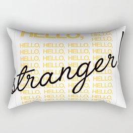 Hello Stranger! Rectangular Pillow