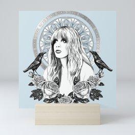 Stevie Nicks Angel Of Dreams Mini Art Print