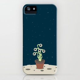 Flowerpot moon iPhone Case