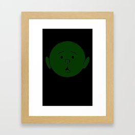 Karl Pilkington - Head Like An Orange Framed Art Print