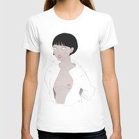 fig T-shirts featuring Fig. 1 by Lala Gallardo