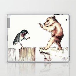 The Bird vs. The Bear Laptop & iPad Skin