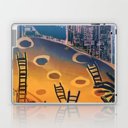 Time through Time, from Caves to Skyscraper, from Organic to Geometric Laptop & iPad Skin