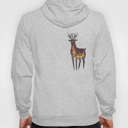 Forest fire deer spirit Hoody