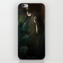 The dark witch iPhone Skin