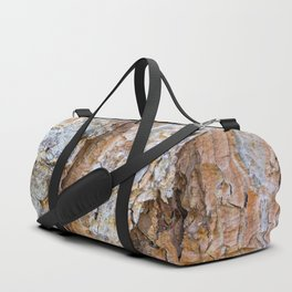Pine bark textures Duffle Bag