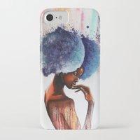 waterfall iPhone & iPod Cases featuring Waterfall  by Sebastian Wandl