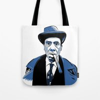 snl Tote Bags featuring Fred Armisen by deathtowitches