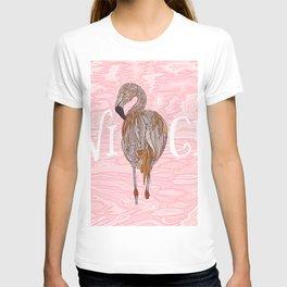 Nice Flamingo T-shirt