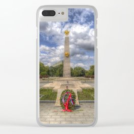 Russian War Memorial Budapest Clear iPhone Case