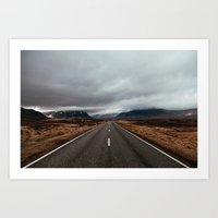 scotland Art Prints featuring Scotland by Kevin Klein