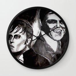 Fear of the Vampire Wall Clock