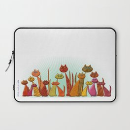 The Vector Cats Laptop Sleeve