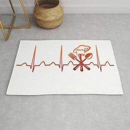 CHEF HEARTBEAT Rug