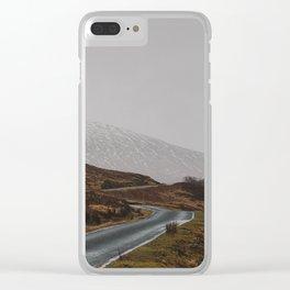 Glen Etive Road Clear iPhone Case