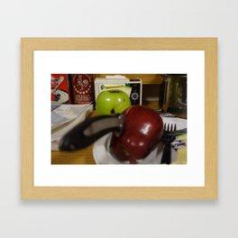 Finals Week Framed Art Print