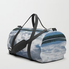 Tranquility At Its Best - Alaska Duffle Bag