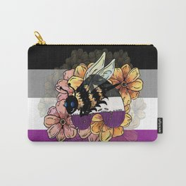 Asexual BumbleBee Carry-All Pouch