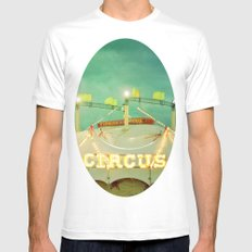 Circus II MEDIUM Mens Fitted Tee White