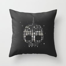 Death Disco Throw Pillow