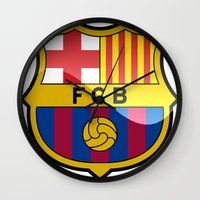 barcelona Wall Clocks featuring BARCELONA by Acus