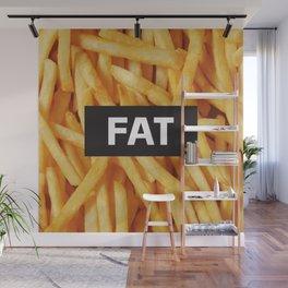 Fat Wall Mural