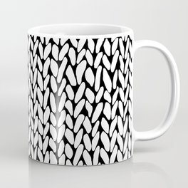 Hand Knitted Loops Coffee Mug