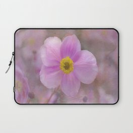 Pink Anemone Laptop Sleeve