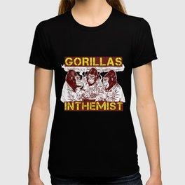 GORILLAS IN THE MIST T-shirt