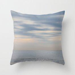 Morning at the ocean Throw Pillow