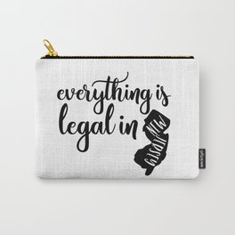 EVERYTHING IS LEGAL Carry-All Pouch