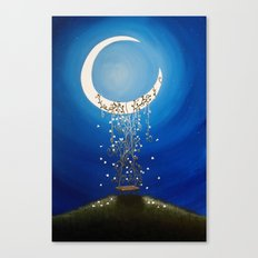 The Wishing Swing Canvas Print