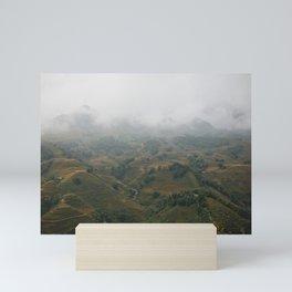 The Magic Mountains of Sapa Mini Art Print