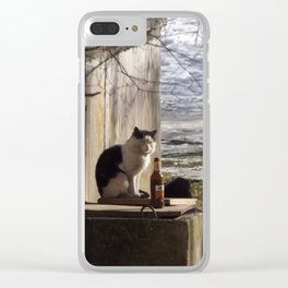 Tough Sunday Morning Clear iPhone Case