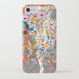 Wildflower Ghost iPhone Case
