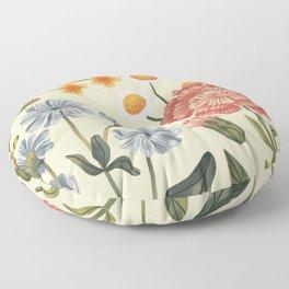 Wild Flowers ~ vol4. ~ light  Floor Pillow