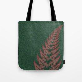 Fall Fern Fractal Tote Bag