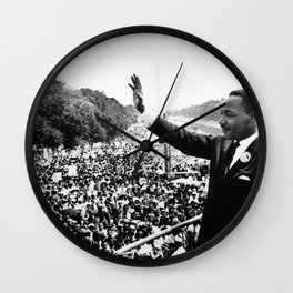 Martin Luther Speech Wall Clock