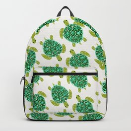 Sea Turtle – Green Palette Backpack