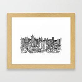 New York View 2 Framed Art Print