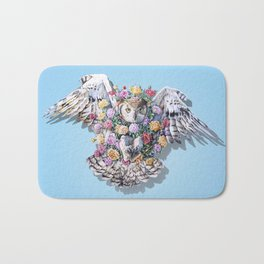 Birds in Bloom Bath Mat