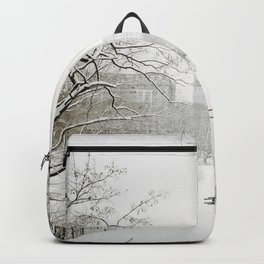 Winter - Central Park - New York City Backpack