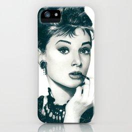My Hepburn iPhone Case