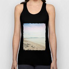 Sand, Sea and Sky - Relaxing Summertime Unisex Tank Top