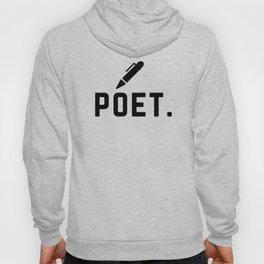 poet. Hoody