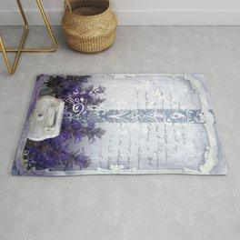 Lavender Love Rug
