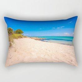 Beautiful Island Day Rectangular Pillow