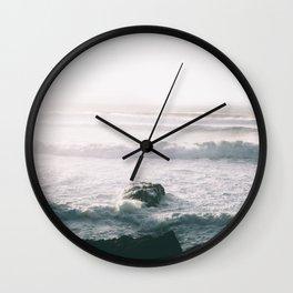 Waves VI Wall Clock