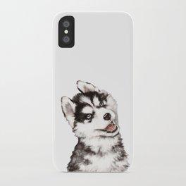 Baby Husky iPhone Case