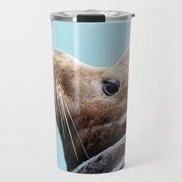 Sea Lion Blues Travel Mug